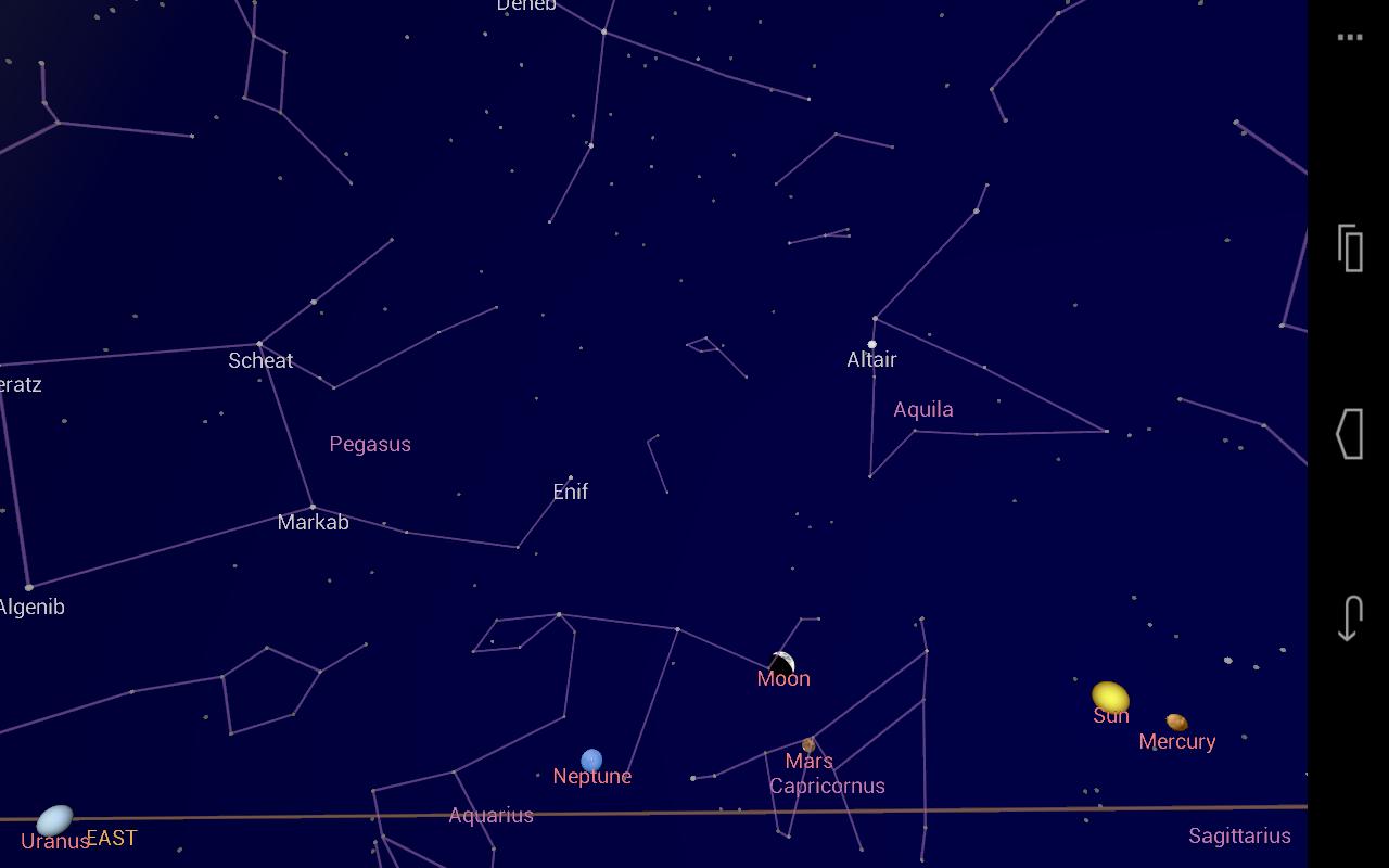 stjernehimmelen kart Bli lommekjent på stjernehimmelen med Google Sky Map – Eirik  stjernehimmelen kart