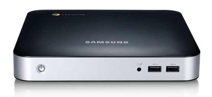 Samsung Chromebox 3, front view