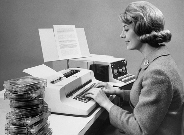 IBM Magnetic Tape Selectric typewriter (kilde: IBM)