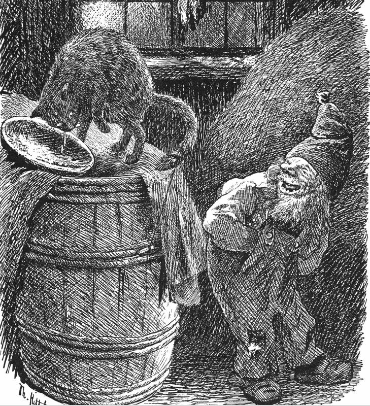 Th. Kittelsen: Nissen