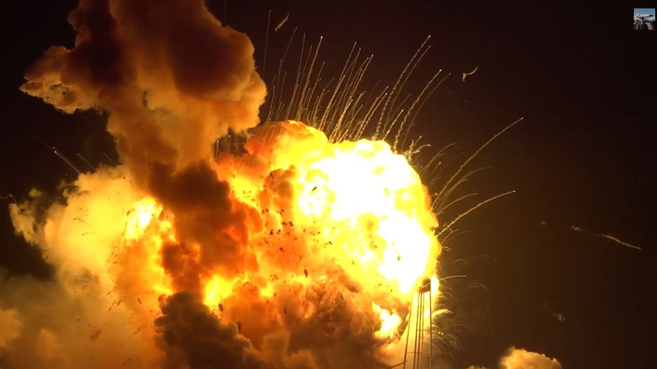 Antares-Explosion-Video